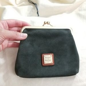 🍒NWT🍒 DOONEY AND BOURKE SUEDE COIN PURSE